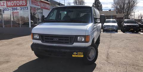 2006 Ford E-Series Cargo for sale at Wheelz Motors LLC in Denver CO