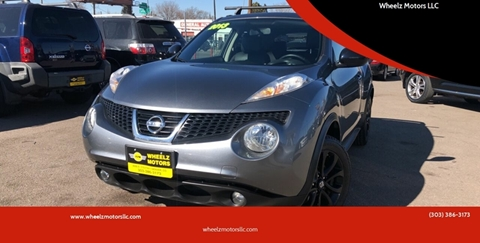 2013 Nissan JUKE for sale at Wheelz Motors LLC in Denver CO