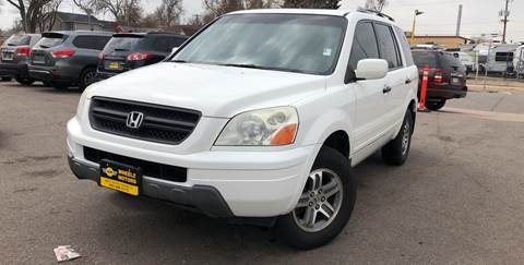 2004 Honda Pilot for sale at Wheelz Motors LLC in Denver CO