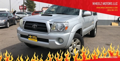2006 Toyota Tacoma for sale at Wheelz Motors LLC in Denver CO