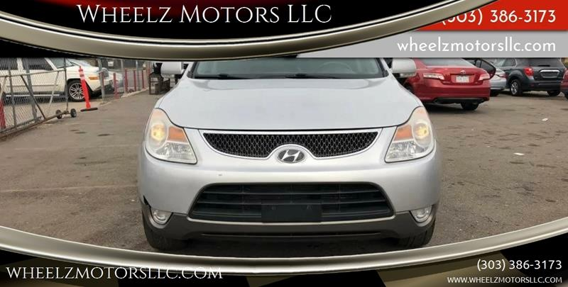 2008 Hyundai Veracruz for sale at Wheelz Motors LLC in Denver CO
