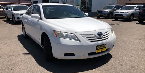 2007 Toyota Camry for sale at Wheelz Motors LLC in Denver CO