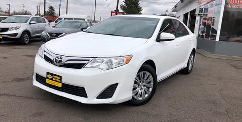 2014 Toyota Camry for sale at Wheelz Motors LLC in Denver CO