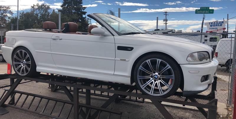 2003 BMW M3 for sale at Wheelz Motors LLC in Denver CO