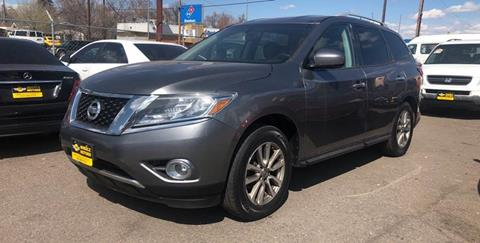 2015 Nissan Pathfinder for sale at Wheelz Motors LLC in Denver CO