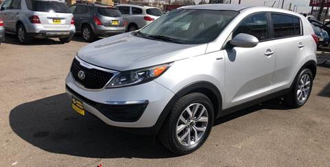 2016 Kia Sportage for sale at Wheelz Motors LLC in Denver CO