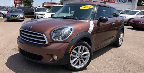2014 MINI Paceman for sale at Wheelz Motors LLC in Denver CO