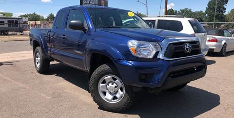 2014 Toyota Tacoma for sale at Wheelz Motors LLC in Denver CO
