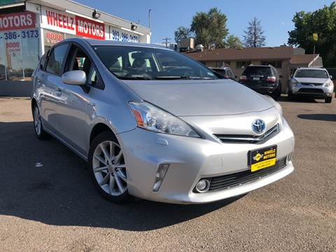 2012 Toyota Prius v for sale at Wheelz Motors LLC in Denver CO