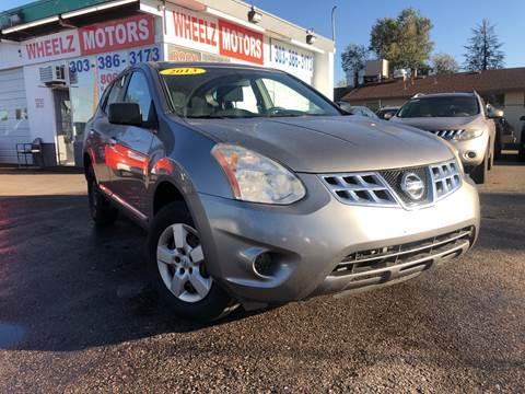 2013 Nissan Rogue for sale at Wheelz Motors LLC in Denver CO