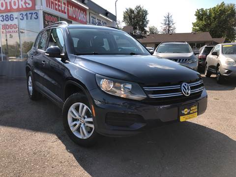 2016 Volkswagen Tiguan for sale at Wheelz Motors LLC in Denver CO