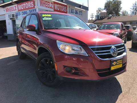2009 Volkswagen Tiguan for sale at Wheelz Motors LLC in Denver CO