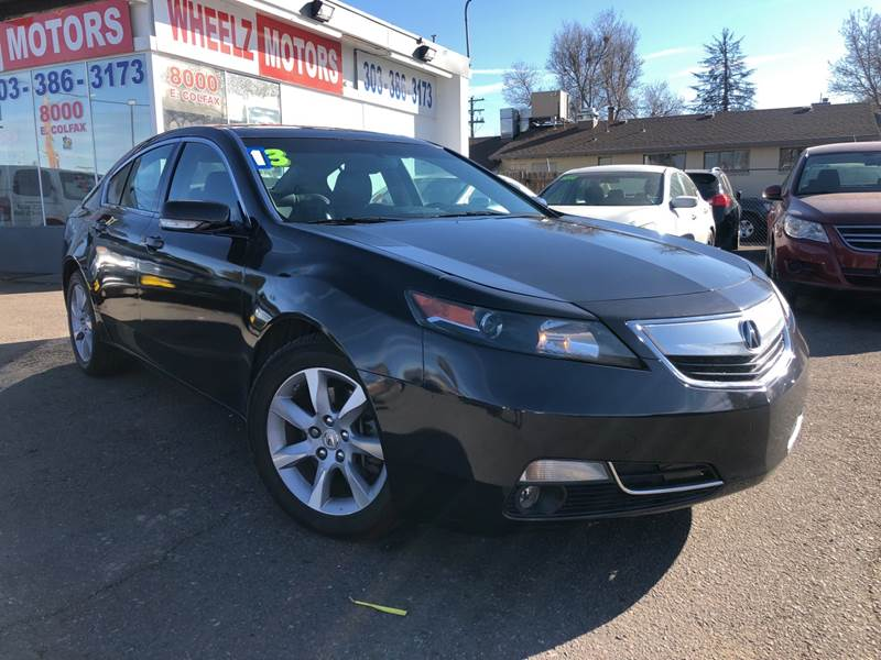 2013 Acura TL for sale at Wheelz Motors LLC in Denver CO