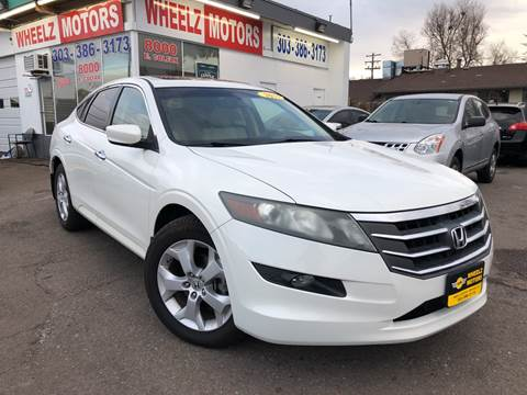 2010 Honda Accord Crosstour for sale at Wheelz Motors LLC in Denver CO