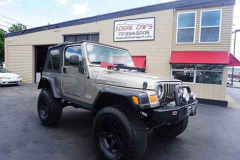 Jeeps For Sale In Pa >> 2005 Jeep Wrangler For Sale In York Pa