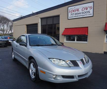 used 2003 pontiac sunfire for sale in goshen in carsforsale com carsforsale com