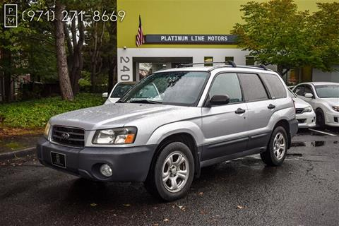 2003 Subaru Forester for sale in Portland, OR