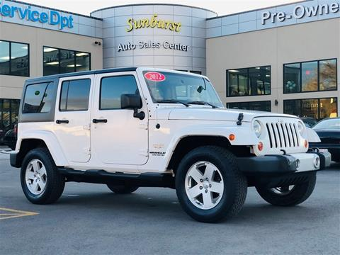 2012 Jeep Wrangler Unlimited for sale in Salt Lake City, UT