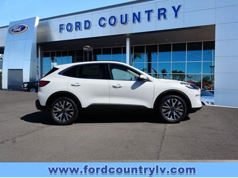 2020 Ford Escape for sale in Henderson, NV