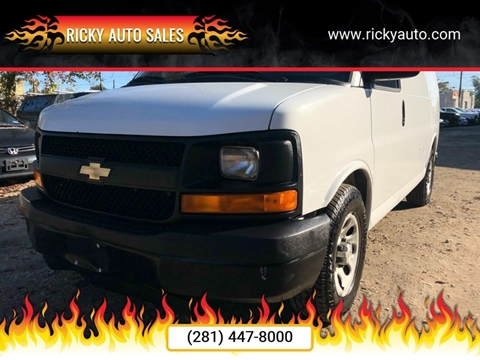 2012 Chevrolet Express Cargo for sale in Houston, TX