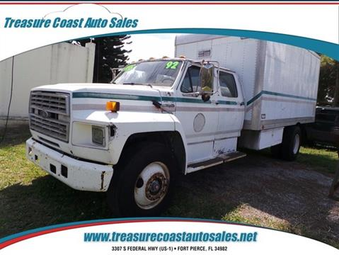 1991 Ford F-750 for sale in Fort Pierce, FL
