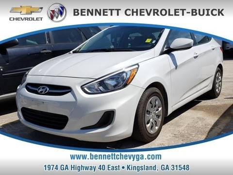 2017 Hyundai Accent for sale in Kingsland, GA