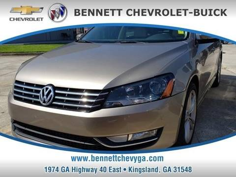 2015 Volkswagen Passat for sale in Kingsland, GA