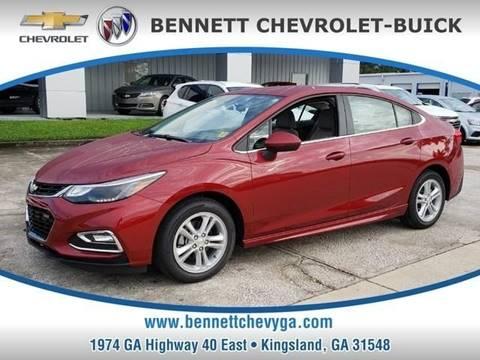 2018 Chevrolet Cruze for sale in Kingsland, GA