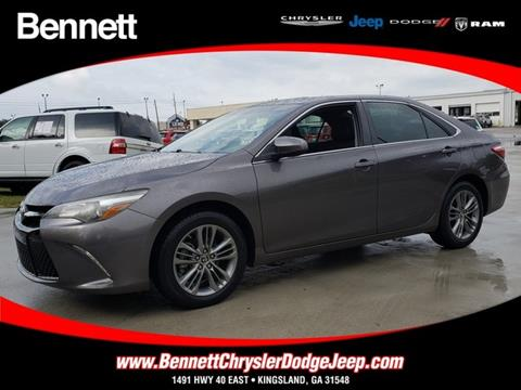 2016 Toyota Camry for sale in Kingsland, GA