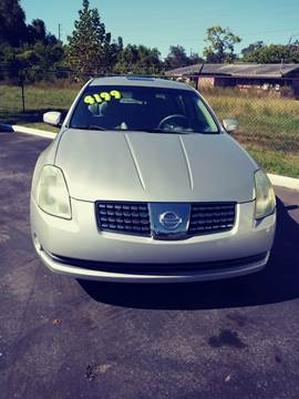 2004 Nissan Maxima For Sale In Hudson, FL