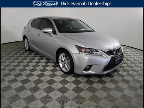 2015 Lexus CT 200h For Sale In Gladstone, OR