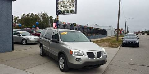 2009 Pontiac Montana SV6 for sale in Detroit, MI