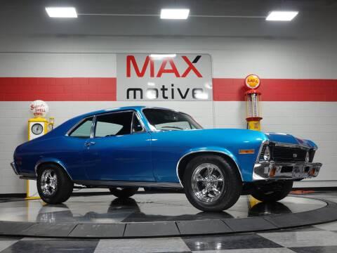 1971 Chevrolet Nova for sale at Maxmotive in Cheswick PA