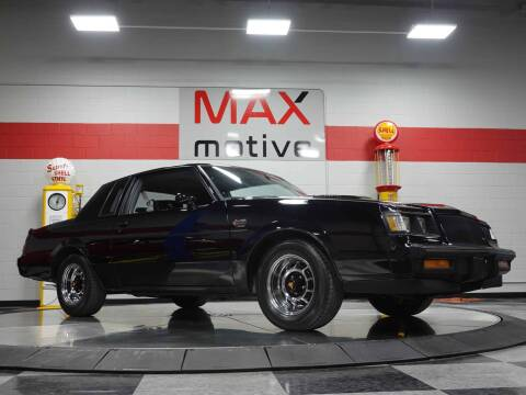 1987 Buick Regal Grand National Turbo for sale at Maxmotive in Cheswick PA