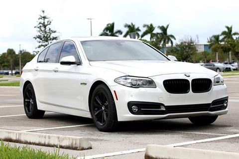 2015 BMW 5 Series for sale in North Miami Beach, FL