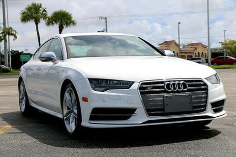 2016 Audi S7 for sale in North Miami Beach, FL