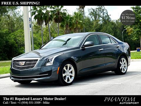 2016 Cadillac ATS for sale in North Miami Beach, FL