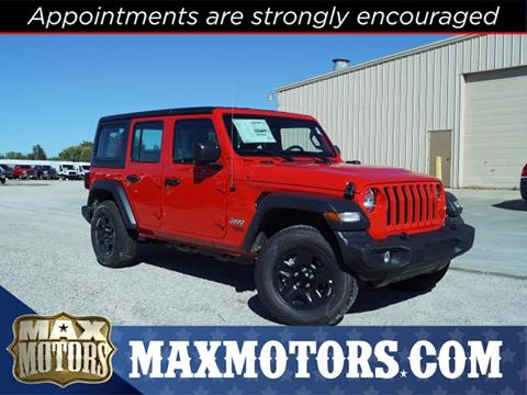 2018 Jeep Wrangler Unlimited For Sale In Harrisonville, MO