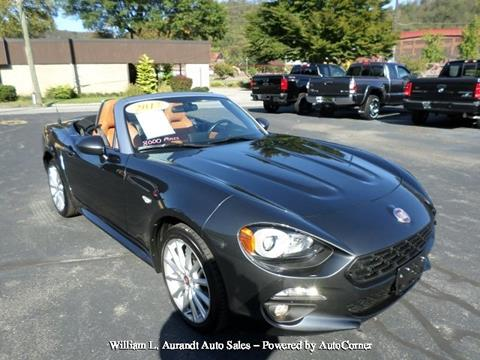 2017 FIAT 124 Spider for sale in Johnstown, PA