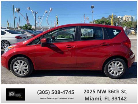 2015 Nissan Versa Note for sale in Miami, FL