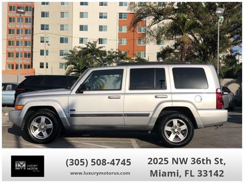 2007 Jeep Commander for sale in Miami, FL