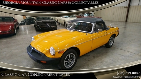 1978 MG B for sale in Cleveland, GA