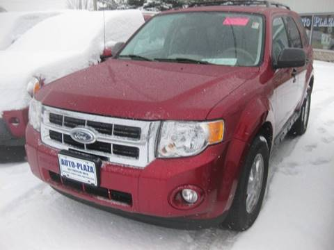 2009 Ford Escape for sale at AUTO PLAZA in Seymour WI