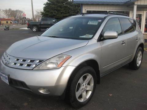 2005 Nissan Murano for sale at AUTO PLAZA in Seymour WI