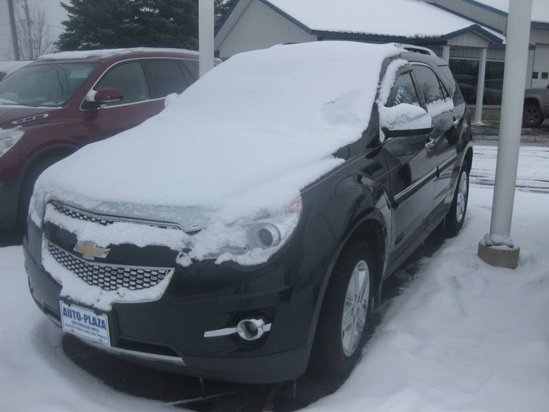 2015 Chevrolet Equinox for sale at AUTO PLAZA in Seymour WI