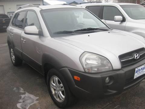 2006 Hyundai Tucson for sale at AUTO PLAZA in Seymour WI