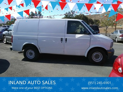 2000 Chevrolet Astro Cargo for sale in Perris, CA