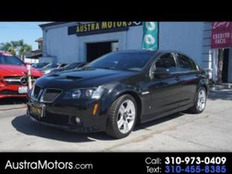 2009 Pontiac G8 for sale in Lawndale, CA