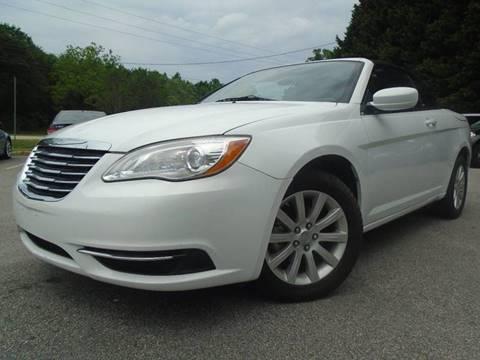 Chrysler 200 Convertible >> 2012 Chrysler 200 Convertible For Sale In Raleigh Nc