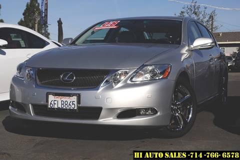 Lexus gs 460 for sale